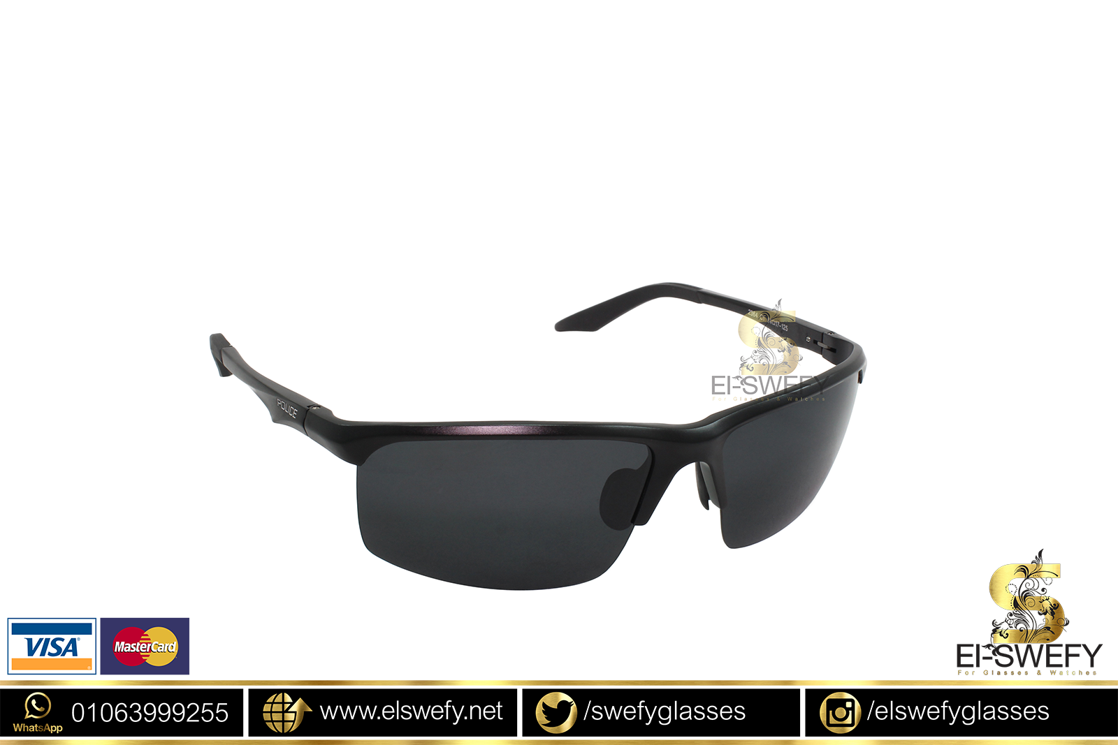 8d675d0188 POLICE – El-Swefy Glasses   Watches
